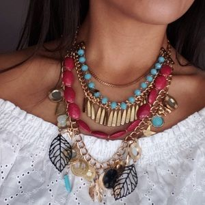 Beautiful Boho Layered Necklace